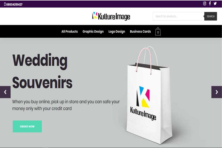 Kulture Image Website Development